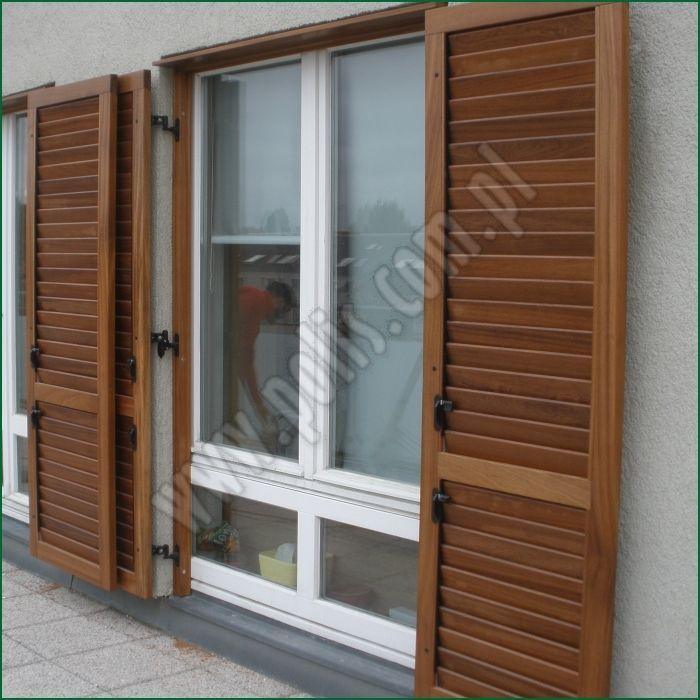 Okiennice Z Ruchomymi Lamelami Szczeblinami Okiennice Drewniane Regulowane Lamele Decor Room Divider Home Decor