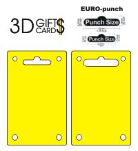 Gauri pentru agatare si fixare ... in 3D GIFTS CARDS - Container. Portofel. Ambalaj. Rigla ...