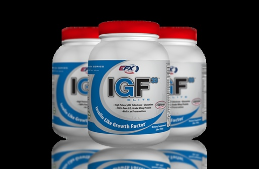 IGF33 Elite PROTEIN Formula For Ultimate Growth, Recovery and Power! IGF33 Elite PROTEIN is for hardcore athletes looking for a highly potent post-workout alternative to products with a high sugar content that bloats you.This formula contains ultra-pure Colostrum with high amounts of naturally occuring IGF growth factors. It also offers a complete array of essential vitmins and minerals to aid with absorption and for a more complete recovery.