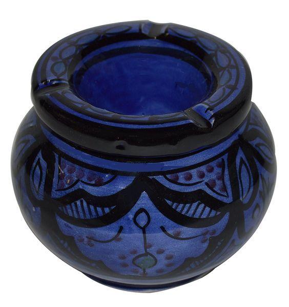 Amazon.com: Ceramic Ashtrays Hand Made Smokeless Large Moroccan: Home & Kitchen