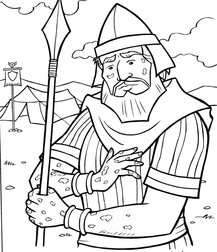 bible coloring pages naaman - photo#16