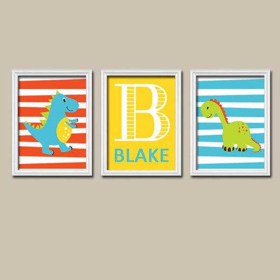 49 best Baby boy nursery images on Pinterest | Dinosaur nursery ...