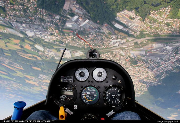 Sailplane - a quiet and quite challenging way to fly!