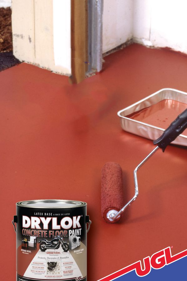 How To Revitalize Interior And Exterior Concrete Floors Ugl Painted Floors Concrete Floors Interior And Exterior