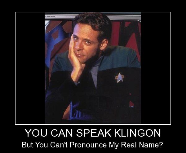 klingon | You Can Speak Klingon - Funny Pictures at ...