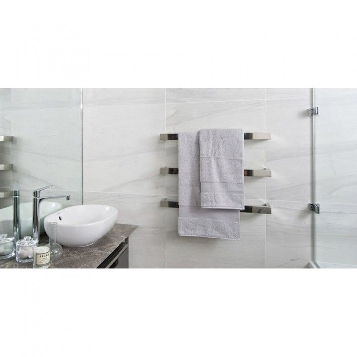 Shop Our Most Popular Thermogroup Thermorail! This Beautiful Round Single  Bar Heated Towel Rail Will