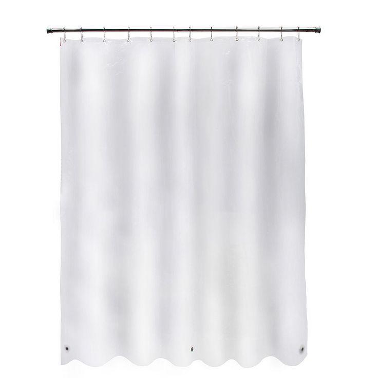 Kenney Medium Weight Peva Shower Curtain Liner, Multicolor