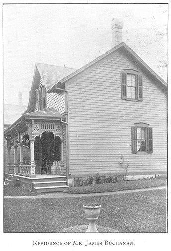 Buchanan House, Goderich, Ontario c.1897 #Goderich #RediscoverGoderich #VintageGoderich