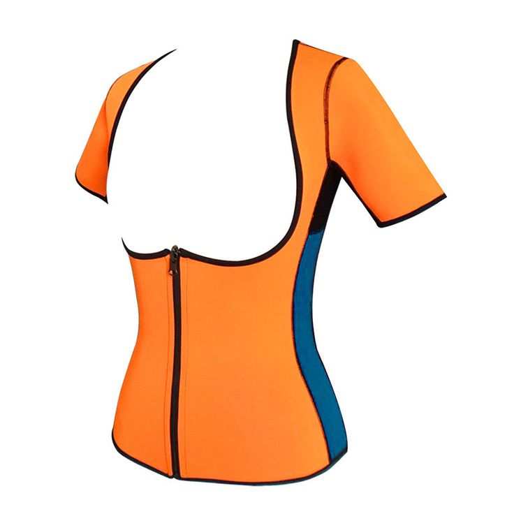 plus size women sweat enhancing waist cincher corset workout waist trainer sauna suit sexy vest hot shaper body sexy top E12B