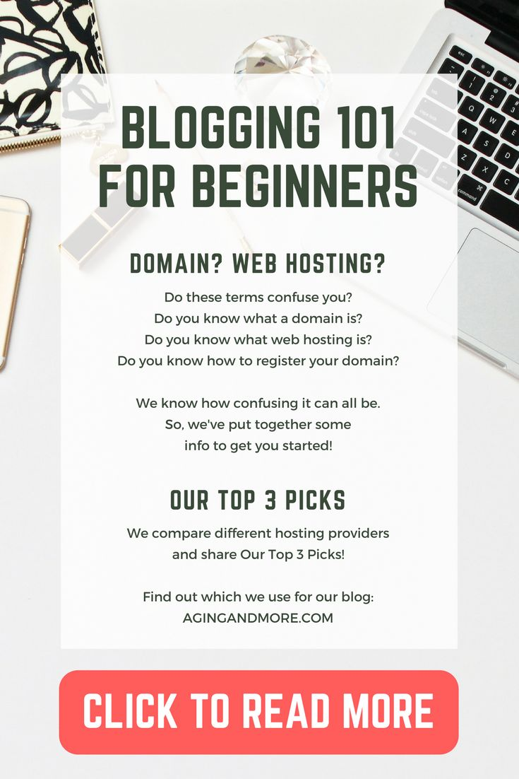 Do you want to start your own blog but aren't sure how to get started? In our post we've explained the difference between a domain and web hosting.  And we've shared Our Top 3 Picks for web hosting services! Click to read more: http://wp.me/p74sqX-wm