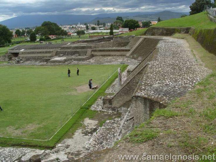 Cholula, Puebla, Mexico   Zona Arqueológica de Cholula Puebla, México
