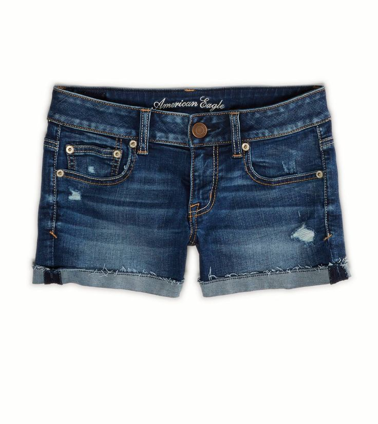 AE Denim Shortie - as much as I want to be an adult and stop wearing AE, these shorts just fit too well.