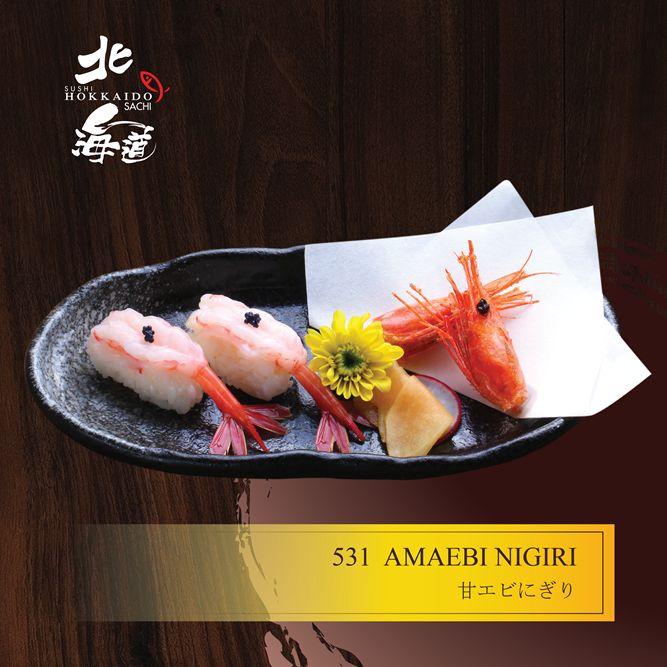 Amaebi Nigiri (Sushi Tôm Ngọt Amaebi)
