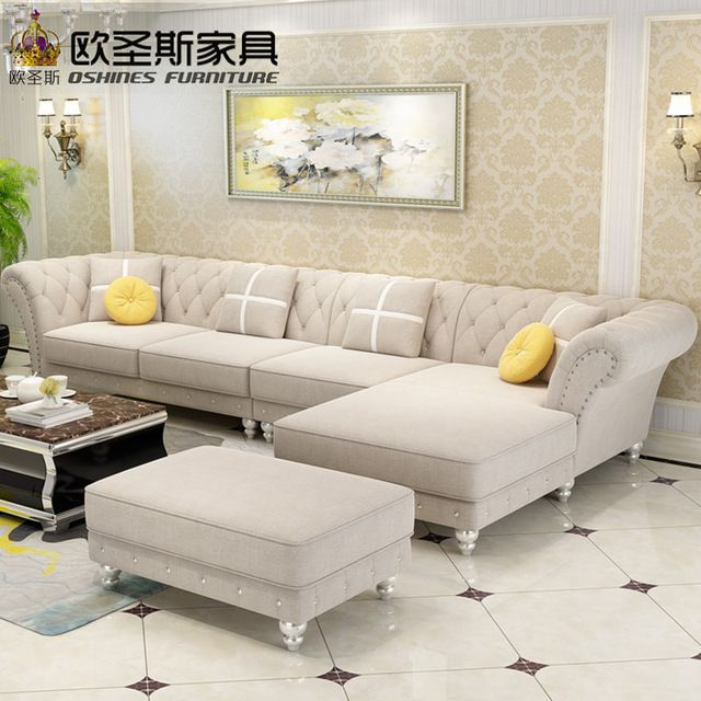 Luxury L Shaped Sectional Living Room Furniutre Antique Europe Design Classical Corner Wooden C Living Room Sofa Design Corner Sofa Design Living Room Sofa Set