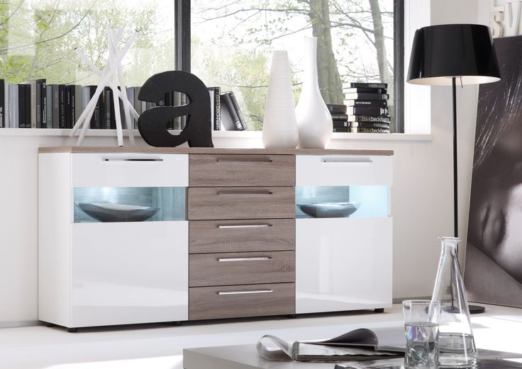 best 20+ sideboard weiss hochglanz ideas on pinterest,