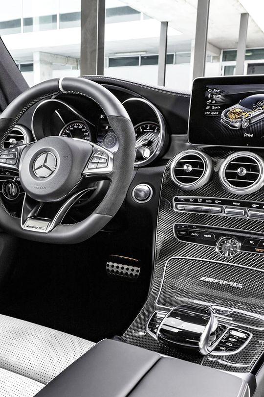 C63 AMG Coupe 2017 Interior    HP  HOT WHEELS
