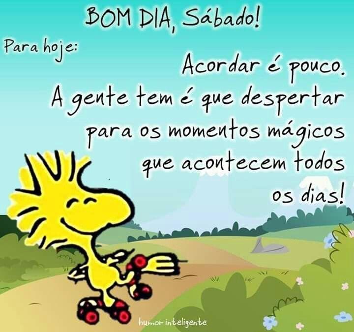 Tag Imagens De Bom Dia Sábado Snoopy