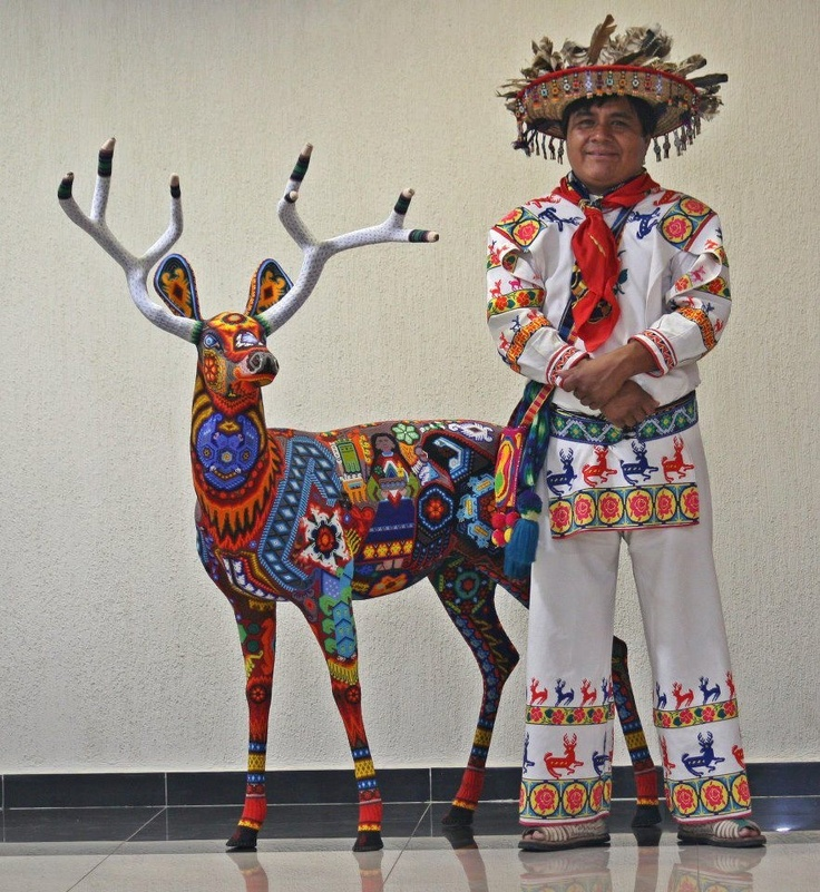 Huichol/Wixaritari Man