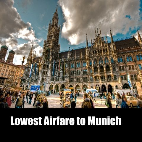 Munich is the capital and largest city of the German state of Bavaria. Everyone would like to be there once. So book cheap tickets to Munich.