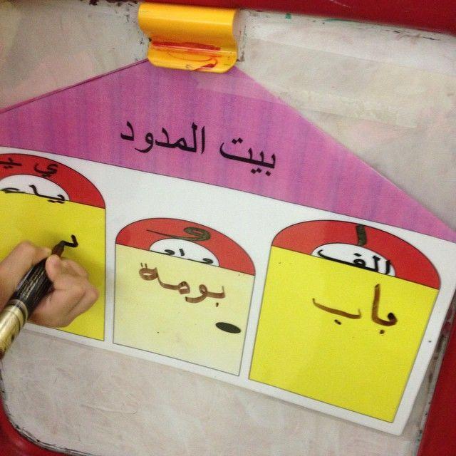 استخرجي من الرسمه كلمه بها مد بالواو وكلمه بها مد بالالف وكلمه بها مد بالياء Alphabet Activities Kindergarten Arabic Kids Learning Arabic