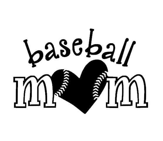 Baseball mom car decal heart love by 2vinyldivas on etsy