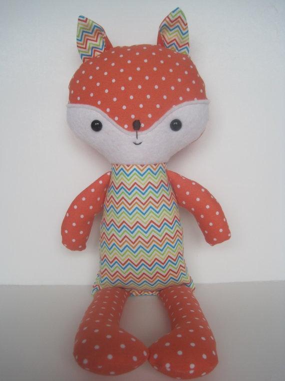 Finnegan the Handmade Fox. $15.00, via Etsy.
