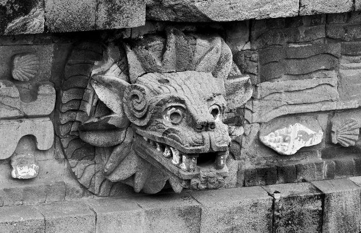 La #culturamaya vive aún hoy en la gente, en las tradiciones y en los paisajes. Aquí solo un fragmento de las ruinas de #Teotihuacan, parte primordial del recuerdo vivo de aquella gran civilización.