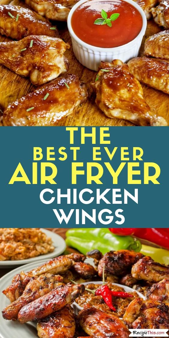 Air Fryer Chicken Wings From Frozen (3 Ways). Here are 3 versions of cooking frozen chicken wings in the air fryer. All your favourite flavours included. #airfryer #airfryrecipes #airfryerfrozenfood #airfryerchickenwings #chickenwings