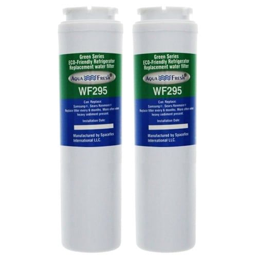 Aqua (Blue) Fresh UKF8001 / WF295 Replacement Water filter for Maytag MSD2651KES Refrigerator Model- 2Pk