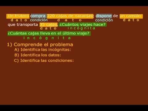 PROBLEMAS DE SUMA, RESTA, MULTIPLICACIÓN Y DIVISIÓN DE NÚMEROS NATURALES - YouTube