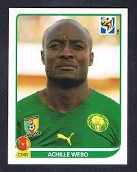 Image result for 2010 panini cameroon webo