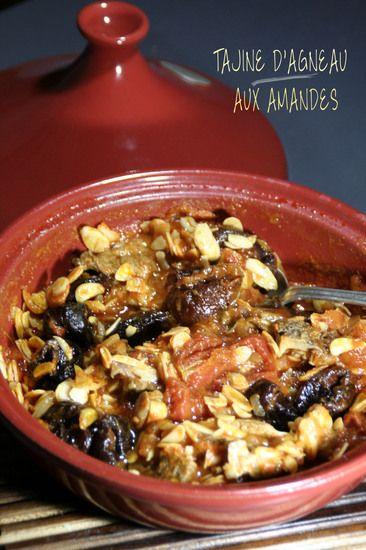 Tajine d'Agneau aux Amandes : la recette facile