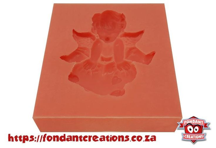 Cupid Sitting on Heart Mould