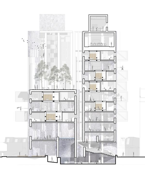 Best Arch Architectural Drawings Images On Pinterest