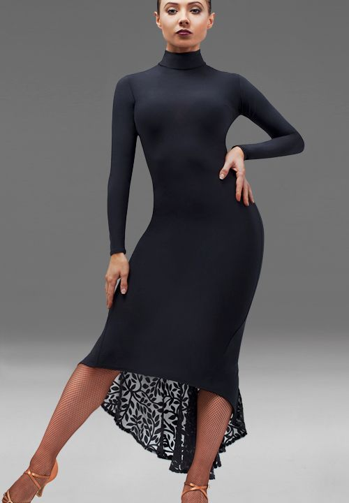 Chrisanne Nirvana Asymmetric Latin Dress| Dancesport Fashion @ DanceShopper.com