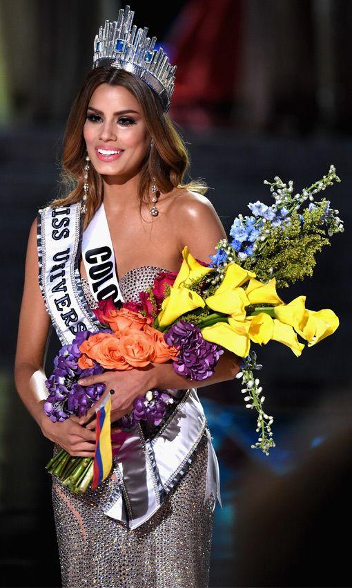 Ariadna Gutiérrez, la belleza colombiana que fue miss Universo 2015 por dos minutos