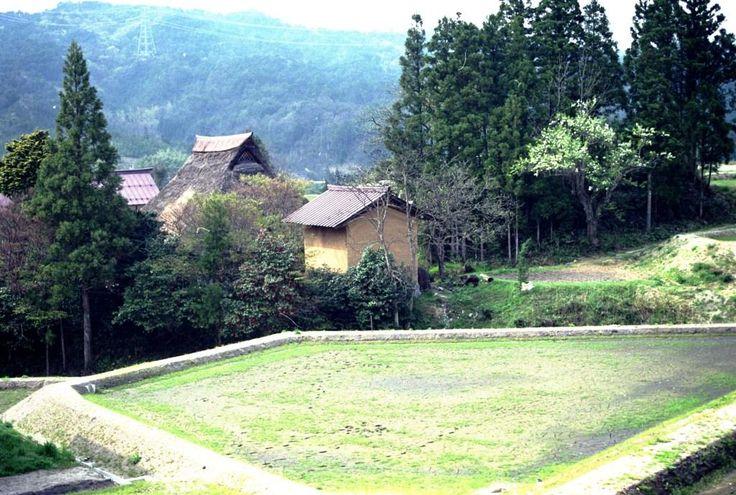 日本茅葺紀行 NO,224 島根県旧広瀬町 - 懐かしい昭和の情景を追って