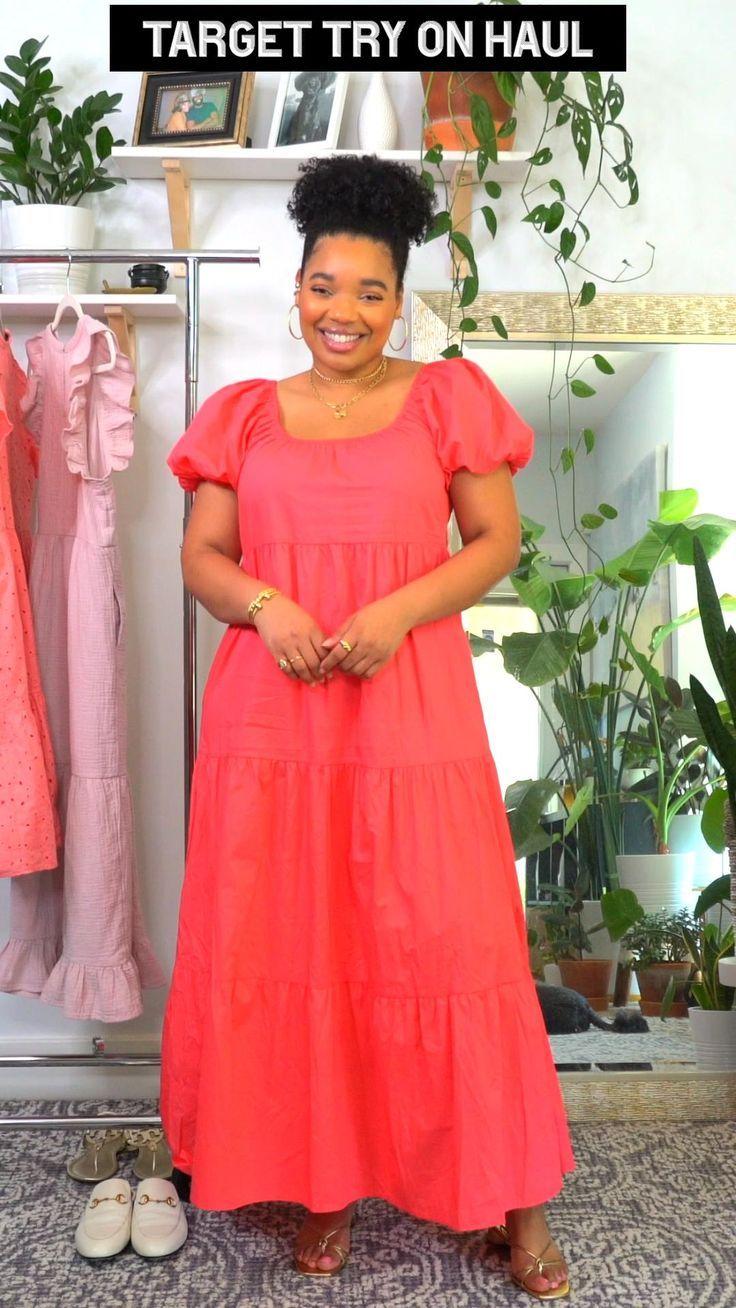 Target Try On Haul Womens Fashion Dresses Casual Summer Fashion Dresses Casual Fashion Dresses Casual [ 1308 x 736 Pixel ]