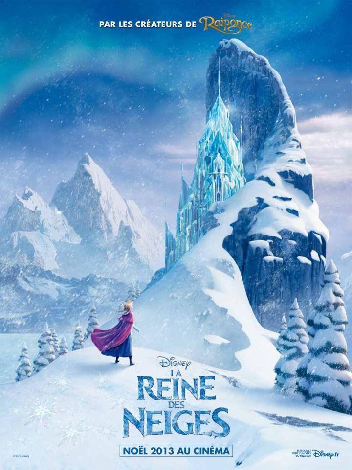 Disney Frozen movie poster France reine des neiges cinema meme imgur