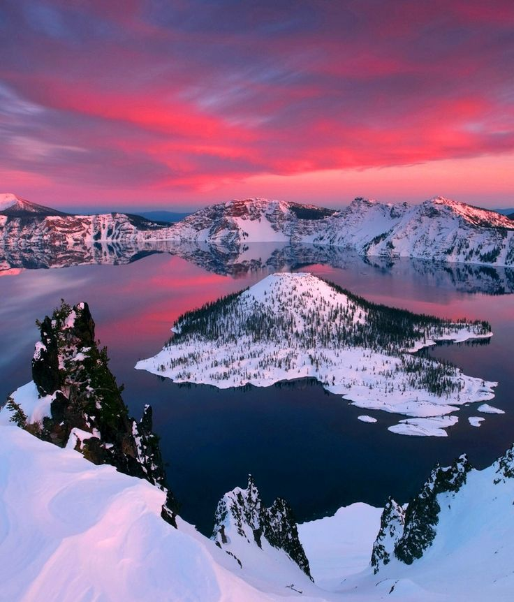 Crater Lake, Oregon, USA                                                                                                                                                                                 More