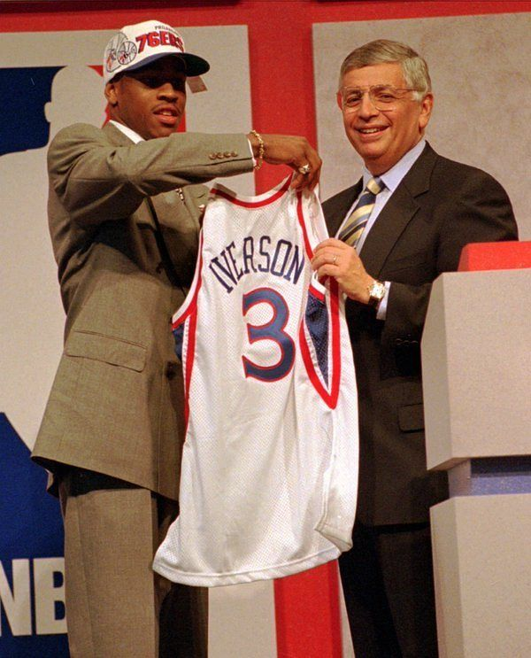 76ers have the No. 1 overall pick in 2016 NBA Draft. Last time they picked No. 1 they drafted Allen Iverson (1996). (via ESPN Stats & Info) by sportscenter