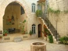 So there's a theme going on here of Arabic courtyard style houses, which I  just