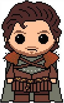 Game of Thrones: Robb Stark PDF Chart Pattern
