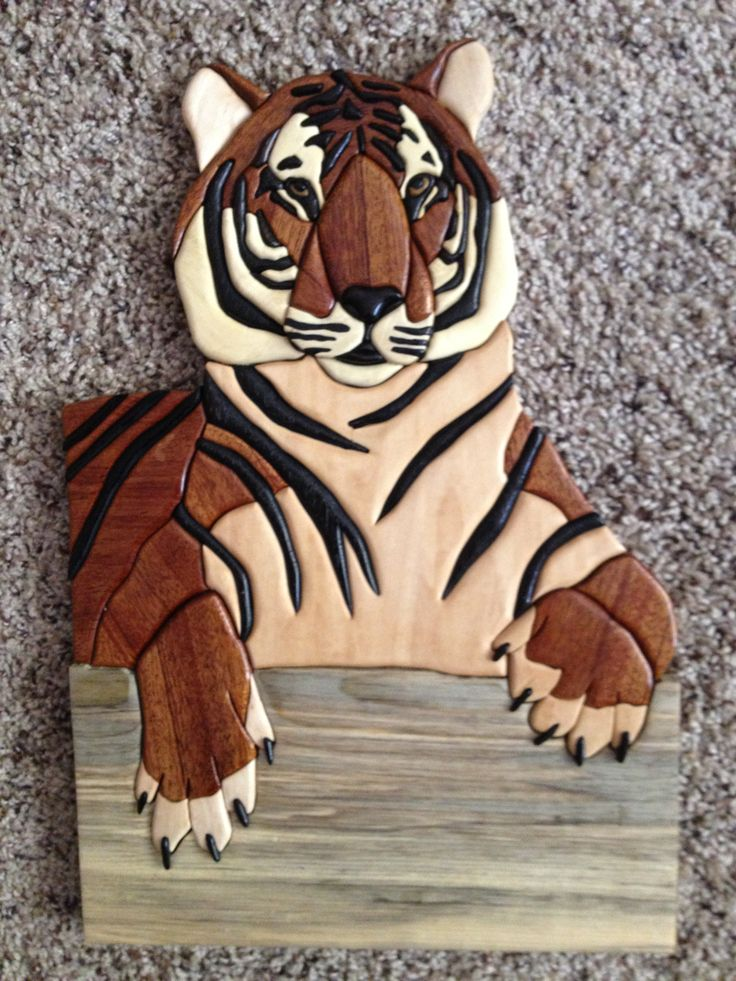 42 best My Intarsia projects images on Pinterest Carved