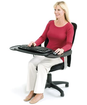 Shop Mobo Chair Arm Mounted Ergonomic Keyboard Trays