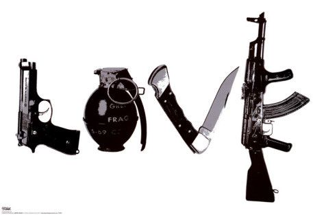 Love (Weapons) - by Steez - http://www.voteupimages.com/love-weapons-by-steez/