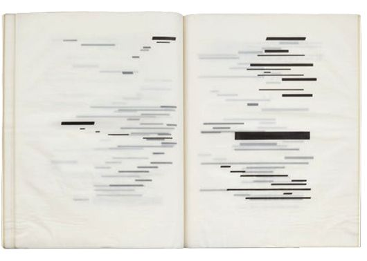 1969, Marcel Broodthaers, Illustrated book with twenty photolithographs based on the poem by Stéphane Mallarmé