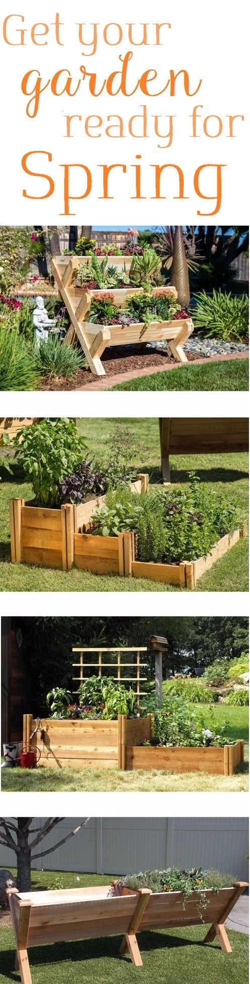Get your garden ready for spring!