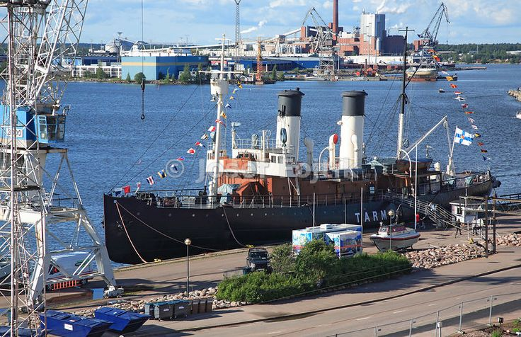 Tarmo steam icebreaker, Maritime Museum of Finland, Kotka, Finland