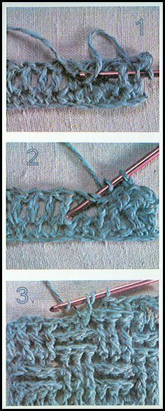 Basket weave crochet stitch...how cool is | http://cuteblankets.blogspot.com